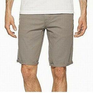 Levi's Mens Shorts Slim Button-Front Size 33